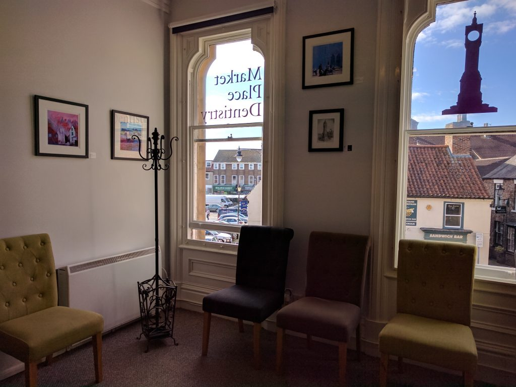 Market Place Dentistry waiting room