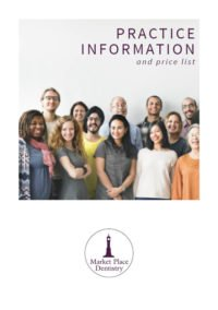 Market Place Dentistry New Patient information booklet